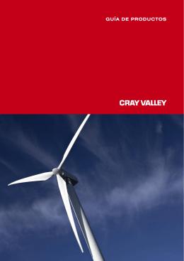 Catálogo gel coats de poliéster Cray Valley