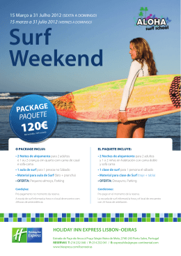 Holiday Inn Express Lisbon-Oeiras -- Surf Weekend