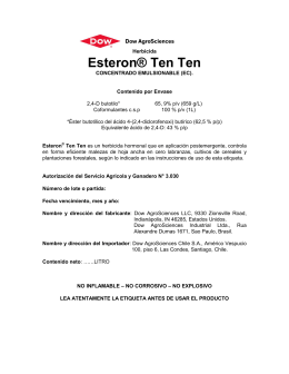 Esteron® Ten Ten - Dow AgroSciences
