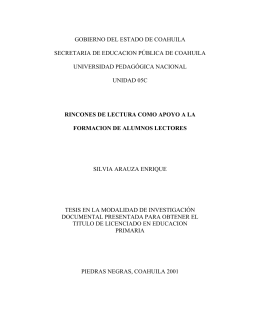 OCR Document - Biblioteca Gregorio Torres Quintero Universidad