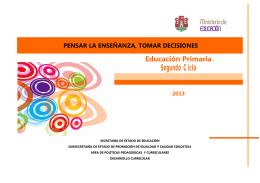 Segundo Ciclo - Igualdad y Calidad Educativa