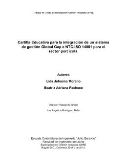 Cartilla Educativa para la integración de un sistema de