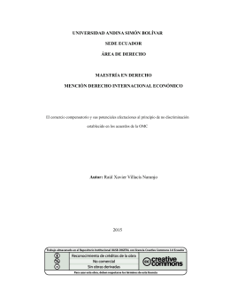 T1608-MDE-Villasis-El comercio - Repositorio UASB