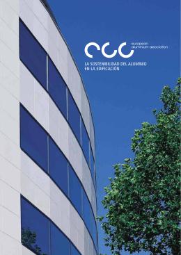 la sostenibilidad del aluminio en la edificación