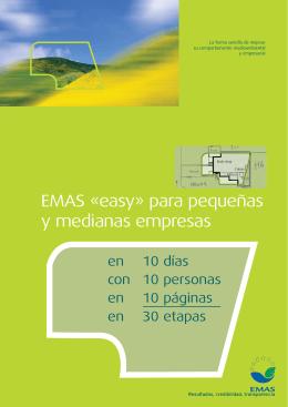 EMAS easy para pequeñas y medianas empresas