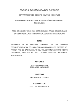 CAPITULO I - Repositorio Digital ESPE