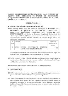 infortecnic 2013-0-2 - Complejo Hospitalario Universitario de Albacete