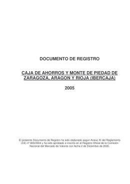 DOCUMENTO DE REGISTRO