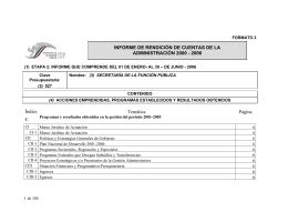 Informe de la Secretaría de la Función Pública 2006
