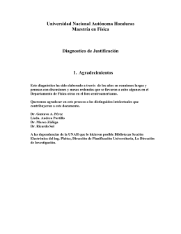 Universidad Nacional Autónoma Honduras