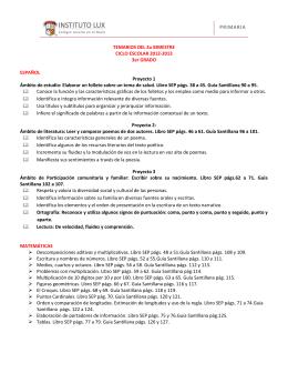 INSTITUTO LUX, A