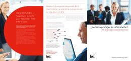 Descargue la guía de productos ISO/IEC 27001