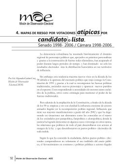 Misión de Observación Electoral - MOE