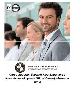 Nivel Oficial Consejo Europeo B2.2