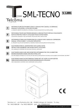 SML-TECNO V. 1.2001
