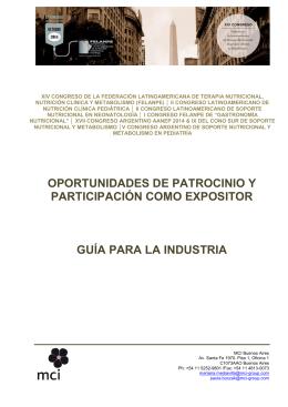 brochure-felanpe2014 - Sociedad Uruguaya de Nutrición