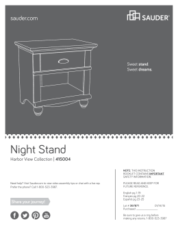 Night Stand - Home Depot