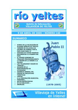 SUMARIO - Villavieja de Yeltes