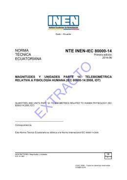 nte_inen_iec_80000-1.. - Servicio Ecuatoriano de Normalización