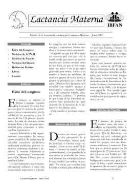 Boletín ACPAM junio 2000
