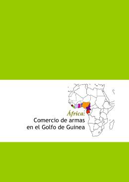 """""""África: Comercio de armas en el Golfo de Guinea"""""""