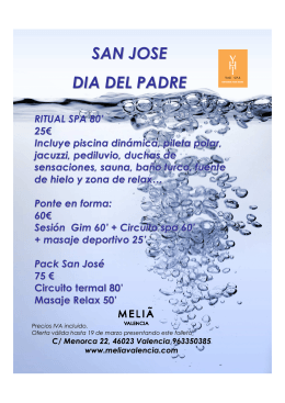 oferta san jose - Melia Hotels & Resorts