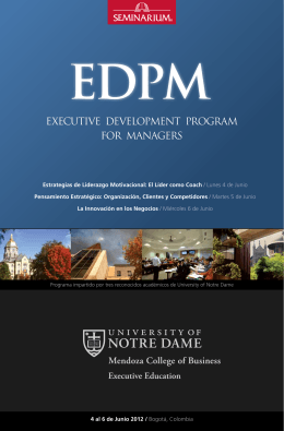 executive development program for managers