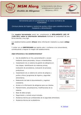 Descargue folleto informativo