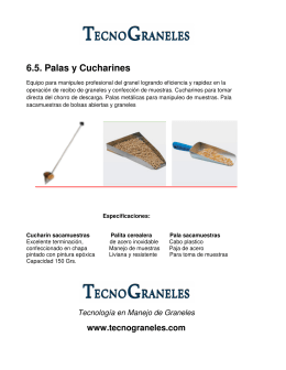 6.5. Palas y Cucharines