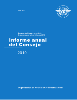 Informe anual del Consejo