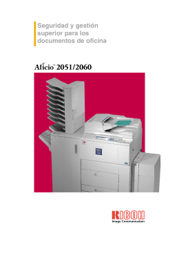 Aficio 2051
