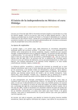 El inicio de la independencia en México: el cura Hidalgo