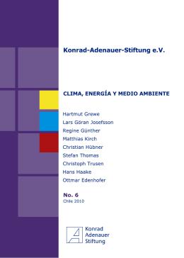 Clima, energía y medio ambiente - Konrad-Adenauer