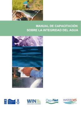 manual de capacitación sobre la integridad del agua - La