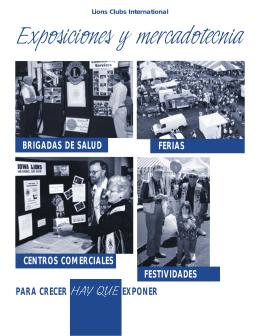 Exposiciones y mercadotecnia