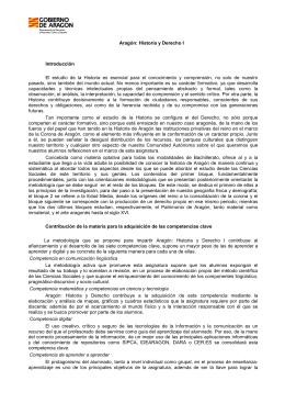 Aragón Historia y Derecho I y II