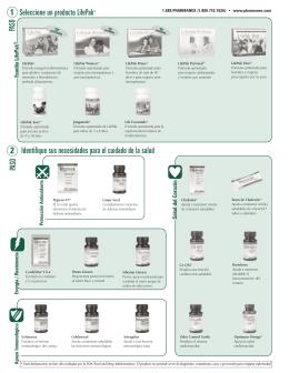 Seleccione un producto LifePak® Identifique sus necesidades para