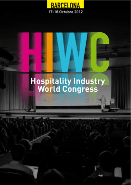Hospitality Industry World Congress