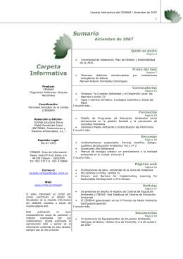 diciembre - Ministerio de Agricultura, Alimentación y Medio Ambiente