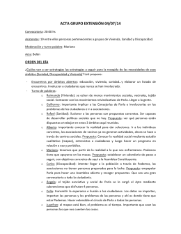 Acta de la reunión del día 14/07/2014