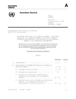Asamblea General - the United Nations