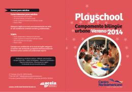 Cursos de verano - Centro Norteamericano