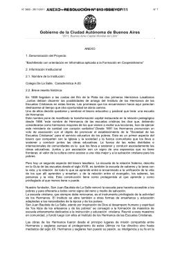 RESOLUCIÓN Nº 613 /SSIEYCP/11