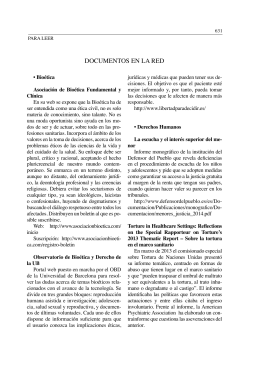 DOCUMENTOS EN LA RED