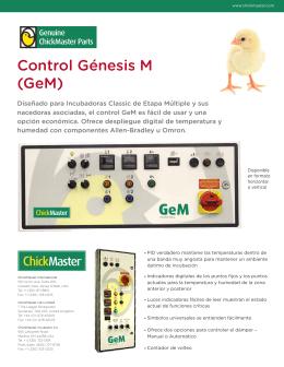 Control Génesis M (GeM)