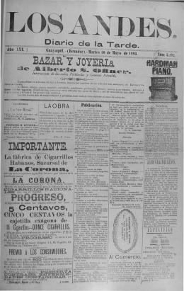 BAZAR Y JOYERI.a IMPORTANTE. - Biblioteca Nacional del Ecuador