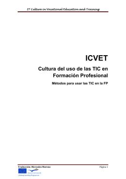 Cultura del uso de las TIC en Formación Profesional