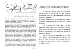 Adviento bien - Parroquia San Roque de Silla