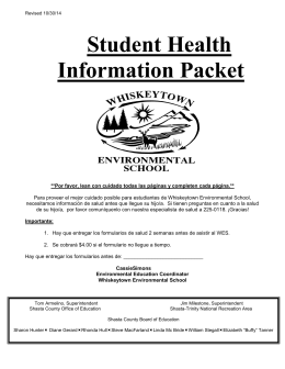 parent & student handbook - Shasta County Office of Education