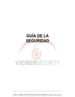 GUÍA DE LA SEGURIDAD